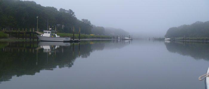 Mattituck Creek, NY, dawn, Aug 2 2012